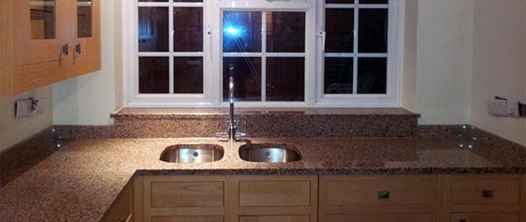 Sink cut-outs, window sils, other services