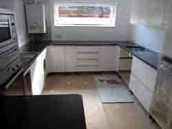 Black Granite Kitchen Worktops in Highgate