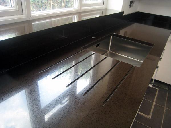 Quartz Worktops Harrow Compac Cherokee Quartz Mg Granite Ltd