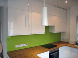 Glass Splash Backs - London - Crystal Palace