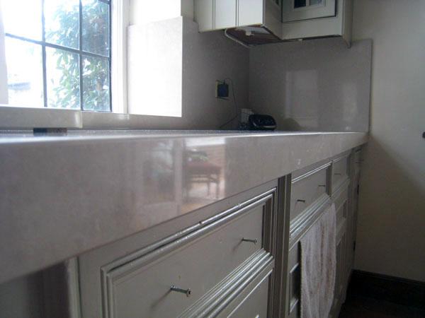 Quartz composite kitchen - Guildford