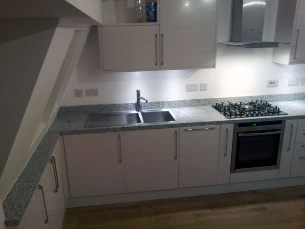 Holland Park - Bianco Sardo Granite Kitchen Worktops