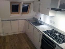 Holland Park - Bianco Sardo Granite Kitchen Worktops