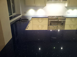 Lunastone Quartz Kitchen - Bromley