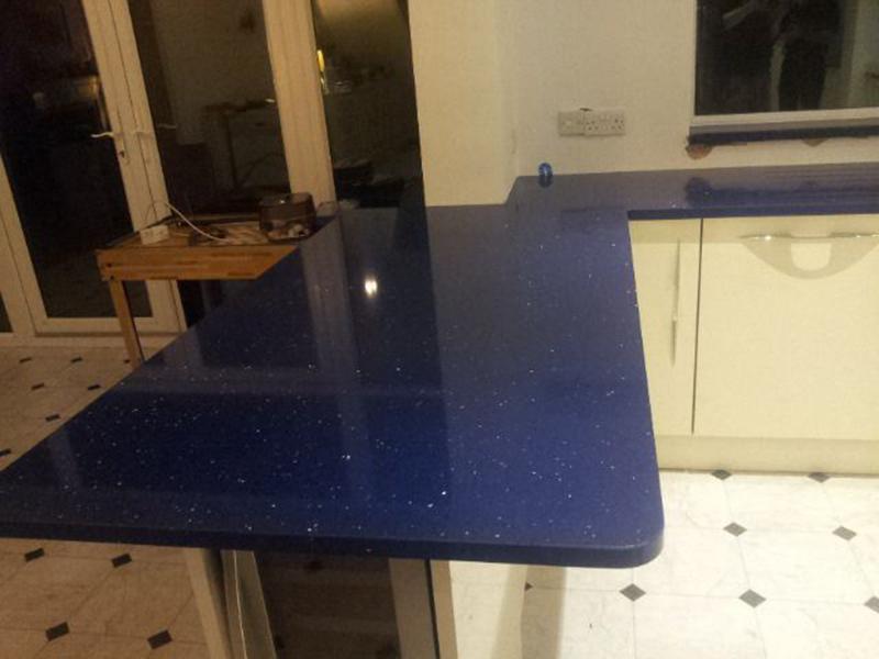 Lunastone Quartz Kitchen - Bromley