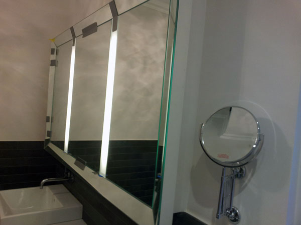 Mirror Bathroom Wall Unit With Lights - Elephant & Castle