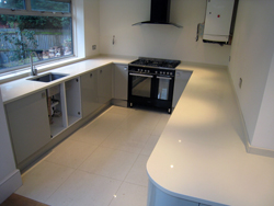 Quartz Kitchen Worktops - Enfield