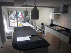 Richmond Angola Black Granite Worktops