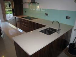 South Heam - Crema Botticino [OKITE] Quartz Kitchen Worktops
