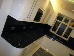 Tooting - Emerald Pearl Granite Kitchen Worktops